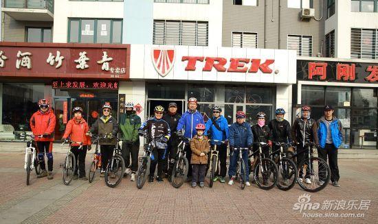 葫芦岛自行车友骑行打渔山